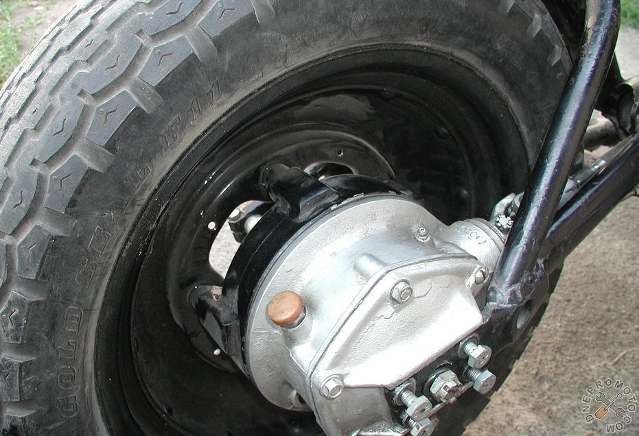 Колеса на мотоцикл урал своими руками